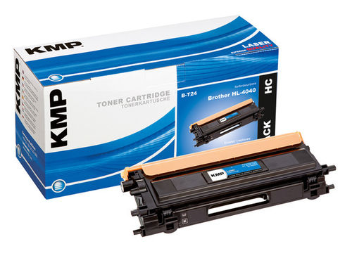 KMP Toner B-T24 Black für Brother DCP-9040CN u.a.