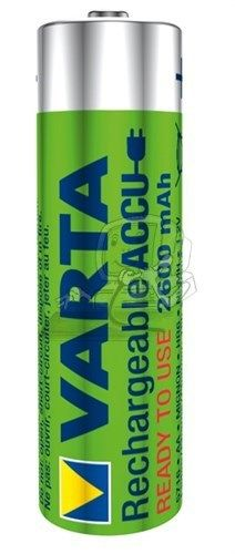 VARTA Ready to Use AA (Mignon)/HR6 - 2600 mAh 4 BLP
